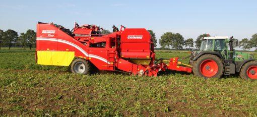 Двуредов прикачен картофокомбайн Grimme, модел SE 150-60