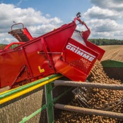 Двуредов прикачен картофокомбайн Grimme, модел SE 260