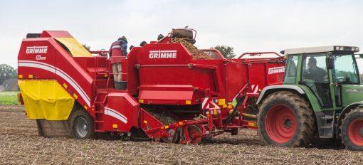 Едноредов прикачен картофокомбайн Grimme, модел SE 75-55
