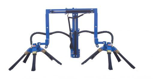 Машина за отстраняване на странични издънки (филизене) VBC, модел R1 dx-sx