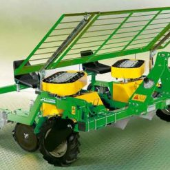 Разсадопосадачна машина HORTECH, модел PRACTICA DUO, подходящи за разсаждане на всички видове зеленчуци